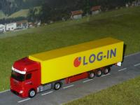 MB Actros MP4 Gigaspace Koffersattelzug