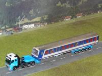 #22 Volvo FH4 Schwertransport Bahnwagen