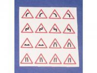 Decalsatz 1:87 Verkehrszeichen 4