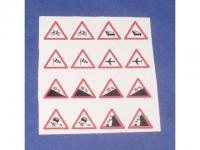 Decalsatz 1:50 Verkehrszeichen 3