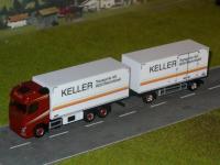 Volvo FH4 Kühlkofferhängerzug