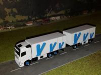 #42 Volvo FH4 Kühlkofferhängerzug