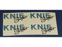 Decalsatz 1:87 4x Knie Buffet 35mm x 15mm