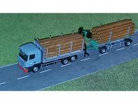 Scania R04 Rungenhängerzug mit Holt