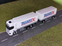 Scania R2016 Planenhängerzug