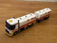 LKW Tankhängerzug Shell