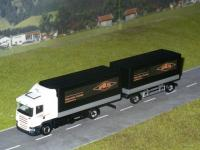Scania R04 Planenhängerzug